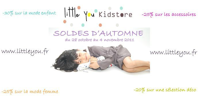 SOLDES AUTOMNE LITTLE YOU