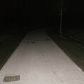 Nuenen - Roosegaerde fietspad by night - PB297155
