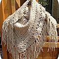 Mon premier shawl