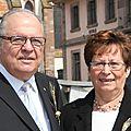 Cernay : madeleine et pierre-paul ehret des époux en or