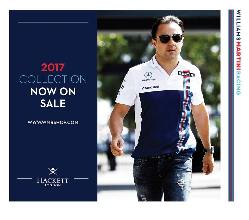 WILLIAMS 2017 COLLECTION MASSA