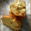 Cake à l'amande et aux abricots secs