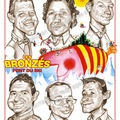 Les bronzs font du ski - caricatures
