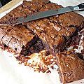 Un tour en cuisine 335: brownie aux spéculoos