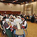 Le repas offert aux aînés le 4 décembre 2016
