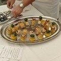 poularde de bresse en deux façons cuisses en ballotines suprèmes contisés aux truffes