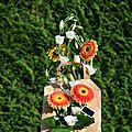 Art floral : fleurs en sac..... à méditer...
