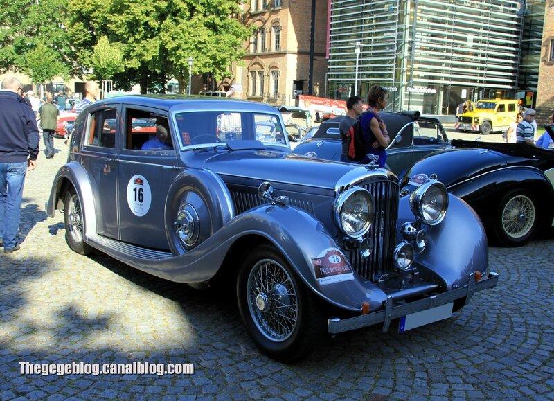 Bentley MK VI saloon de 1936 (Paul Pietsch Classic 2014) 01