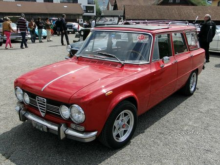 alfa romeo giulia super promiscua (break), 1972 1977, osmt zug 2013 3