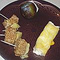 Chaud-froid de fromages en sucré/salé