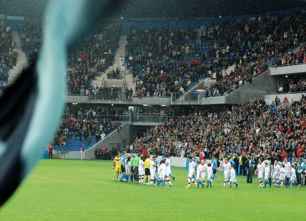 Inauguration stade 12