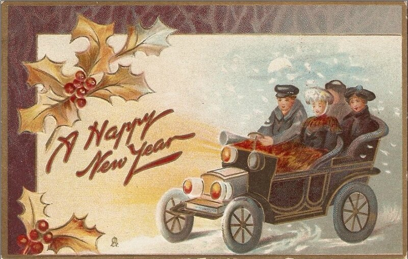New year voiture