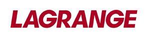 logo Lagrange rouge sur fond blanc léger