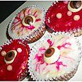 Cupcakes de l'horreur