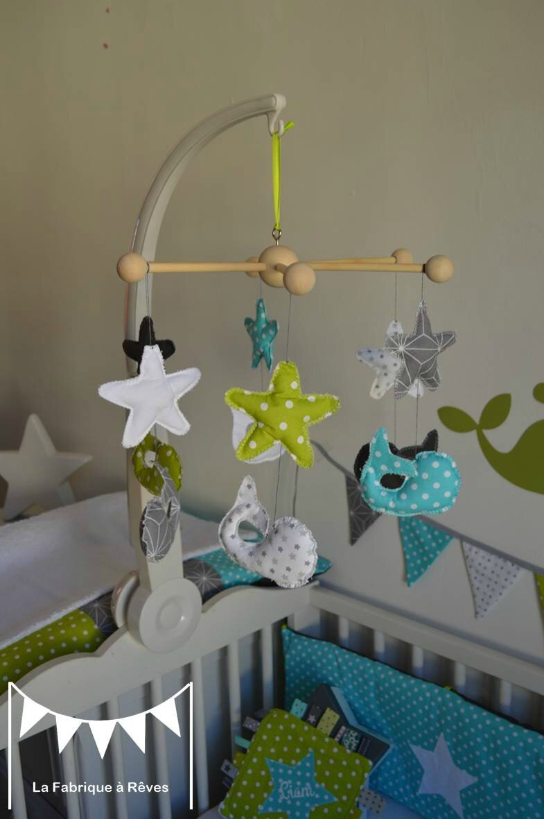 Chambre bebe vert canard for Decoration canard