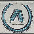 parure barely's turquoise argent