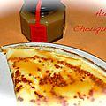 Crêpes à la compotes de fruits et caramel au beurre salé