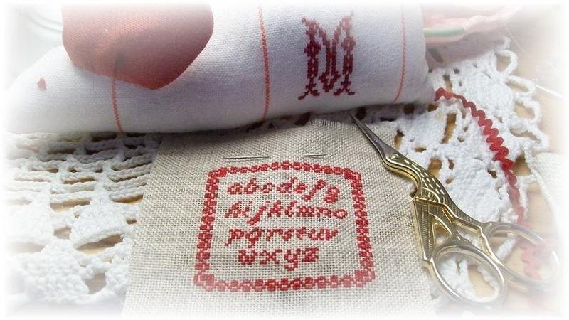 Petit Abc Miniature - brodé par Malilène