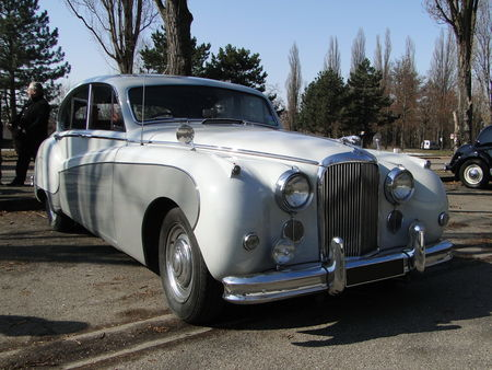 JAGUAR Mark IX 1959 Retrorencard 2