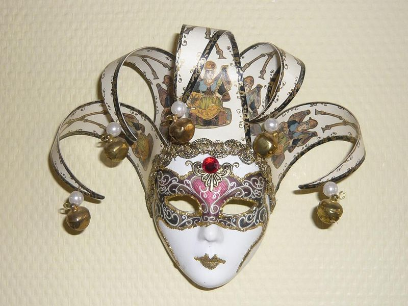 Сделать венецианскую маску своими руками фото