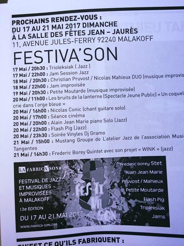 Festiva'Son 2017