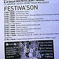 Festiva'son (17 au 21 mai)