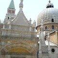 les coupoles de San Marco vues du Palais des Doges