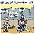 Des sdf utilisés comme bornes wifi