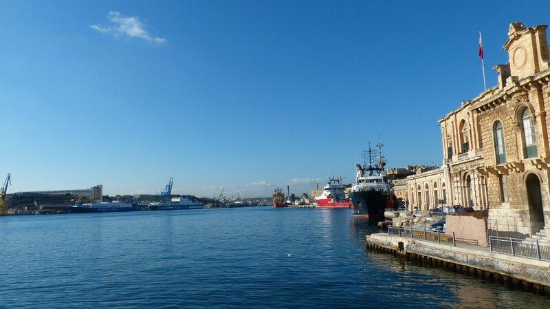 traversée vers malte
