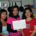 Odavia,Greethel y Claudia