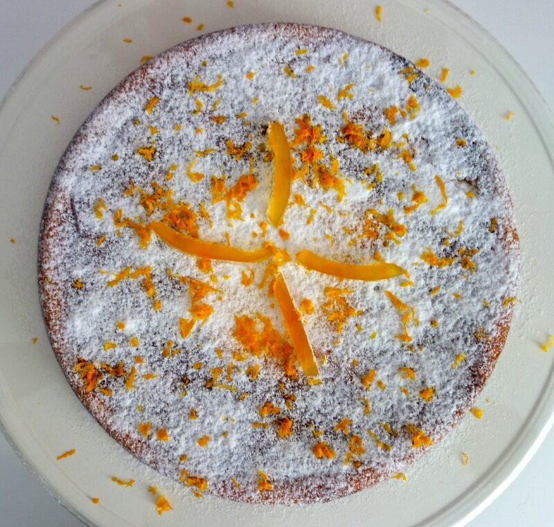 gâteau ricotta à l'orange