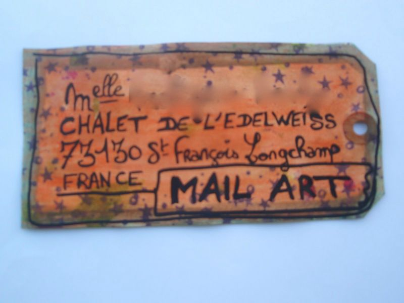Mail Art Sandy 4