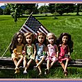 Independance day chez les teen trends (mattel)