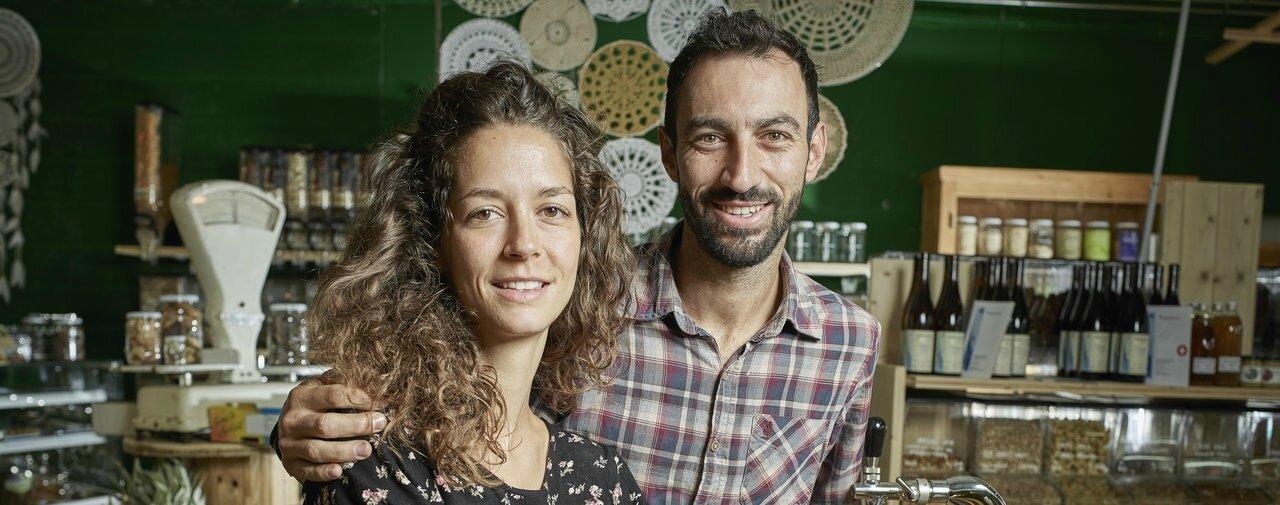 Eslyne Charrier et Olivier Richard, les amants du zéro déchet
