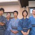 Brochette de mâles (ayant perdu leur virilité à cause des kimonos de circonstance xD)