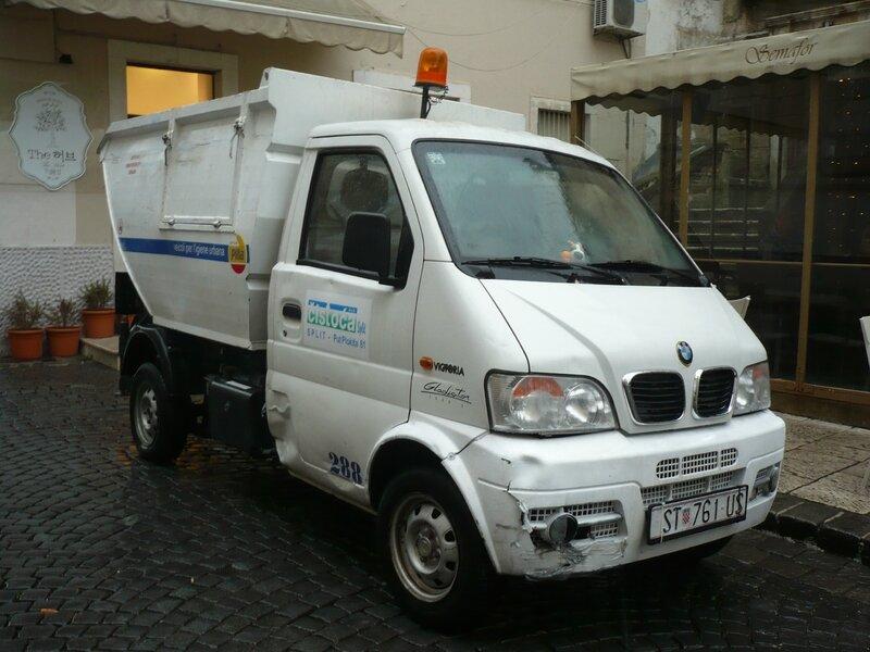 GIOTTI VICTORIA Gladiator euro 5 benne à ordures ménagères Split (1)