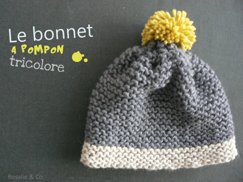 bonnet pompon-rosalie & co