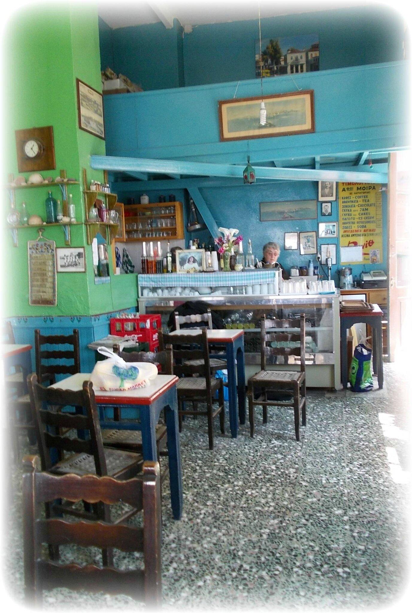 Les weeks-ends lecture de Virginie.B : Tous au kafenio !
