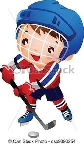 Image result for jouer au hockey