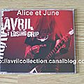 CD promotionnel Losing Grip-version australienne (2003)