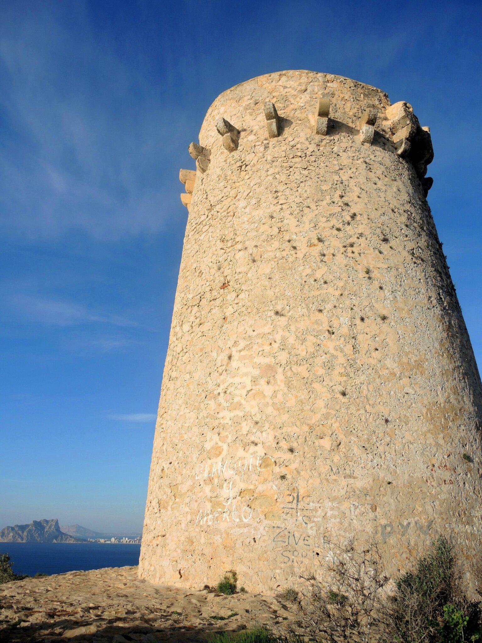 Moraira, Torre el Cap d'Or (Espagne)