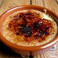 Crème catalane brûlée