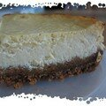 cheesecake au sirop d'rable