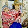 Frère et Soeur à Churca -Pérou