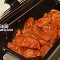 Petits plats: sauté de veau au chorizo