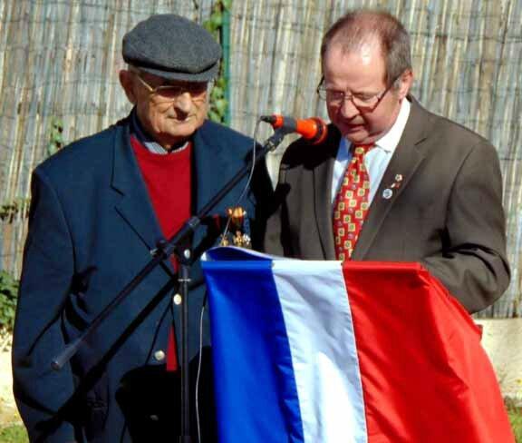 Mr André ALAZARD et le nouveau Président Mr Michel ANDRE