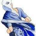 Pompadour bleue