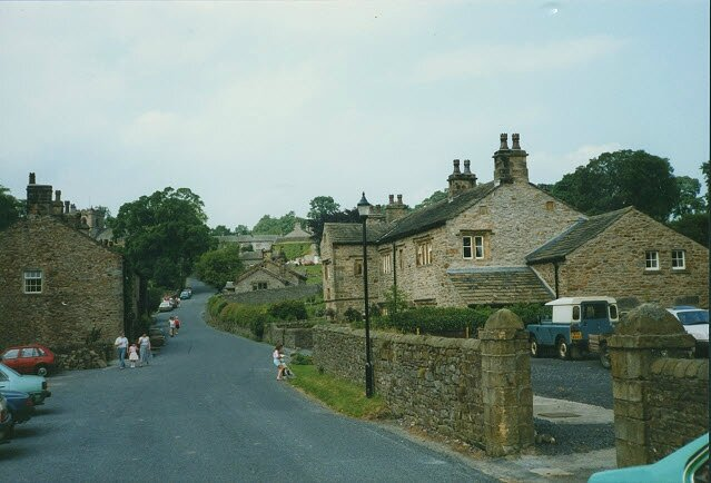 The_bottom_of_Downham_village_-_geograph_org_uk_-_1359611