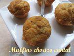 muffins chorizo cantal