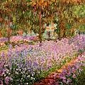 Le jardin de Giverny Claude Monet